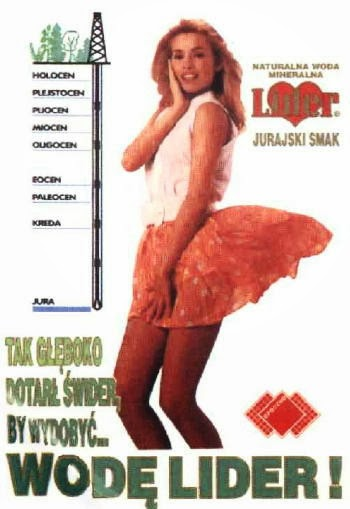 reklama firmy z lat 90-tych