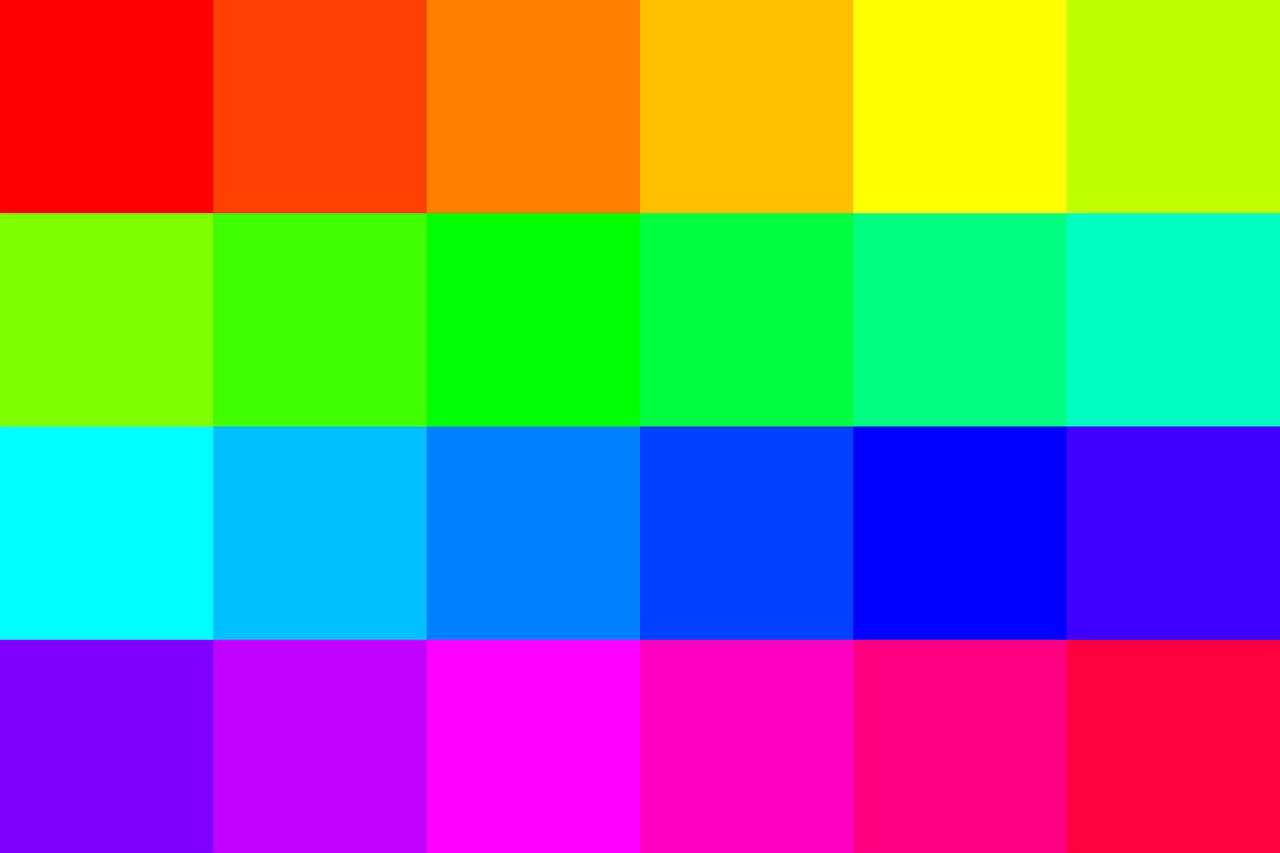 kolorowe trendy w web designie